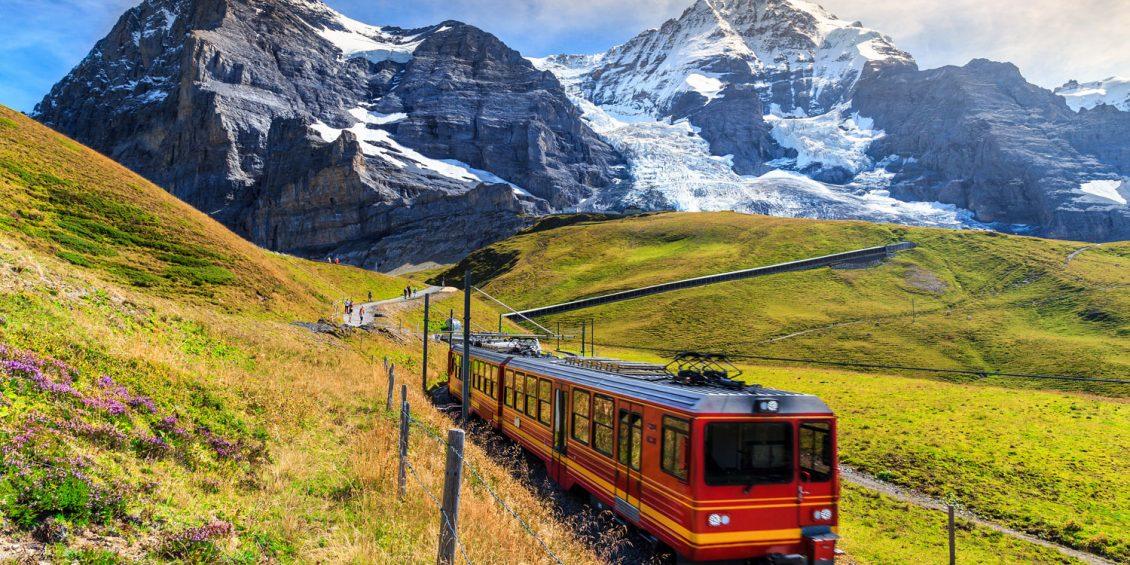 Traumhafte Bahnreisen durch Europa