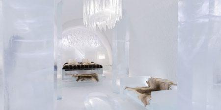 Übernachten im Eis – Eishotel Jukkasjärvi