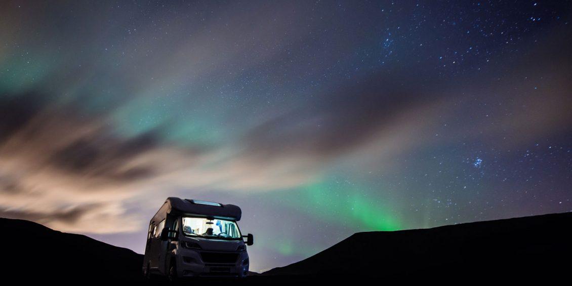 Unterwegs mit dem Wohnmobil: Wintercamping