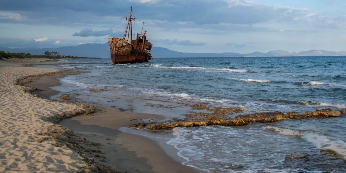 Malerischer Verfall – beeindruckende Schiffswracks