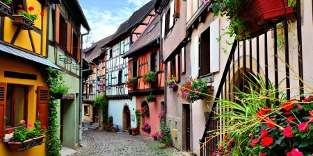 Eguistheim, Kerhinet, Estaing: großartige Orte in Frankreich