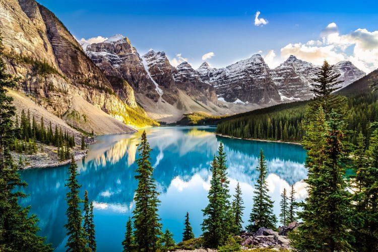 Morain See im Banff Nationalpark