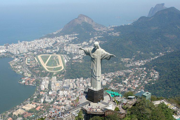 Cristo Redentor über Rio de Janeiro