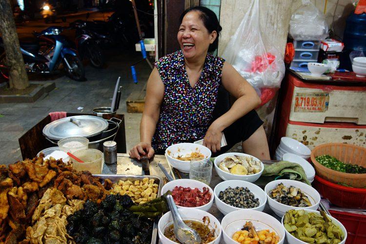 Lebensmittelverkauf Vietnam