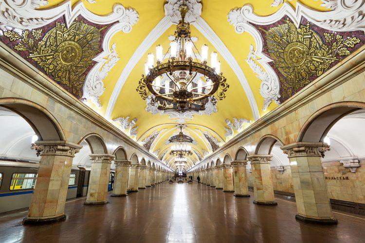Metro-Station Komsomolskaja