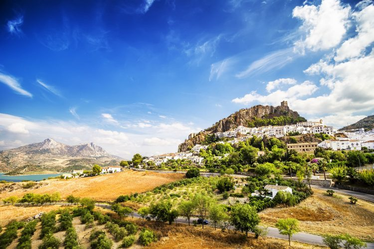 Phantastische Landschaft Andalusiens