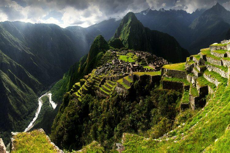 Machu Picchu in den Anden