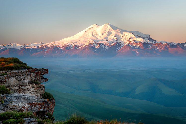 Platz Nr. 1: Der Elbrus in Russland