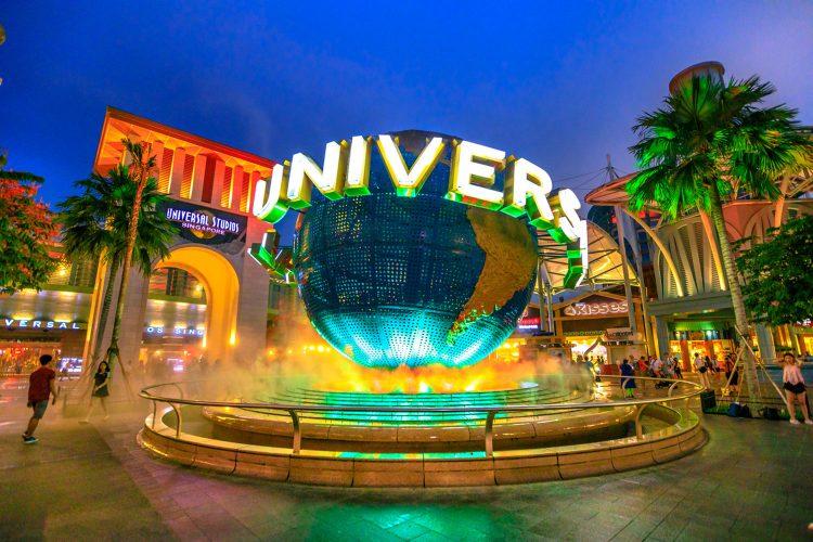 Universal Studios auf Sentosa Island