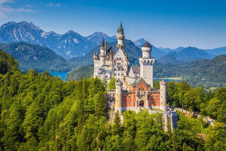 Schloss Neuschwanstein im Schwangau