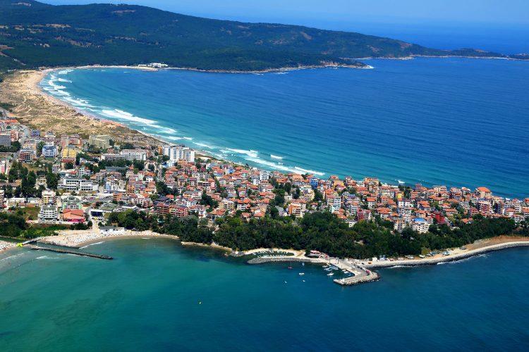 Küste am Schwarzen Meer