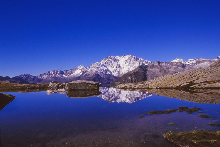 Platz Nr. 9: Der Monte Rosa in der Schweiz