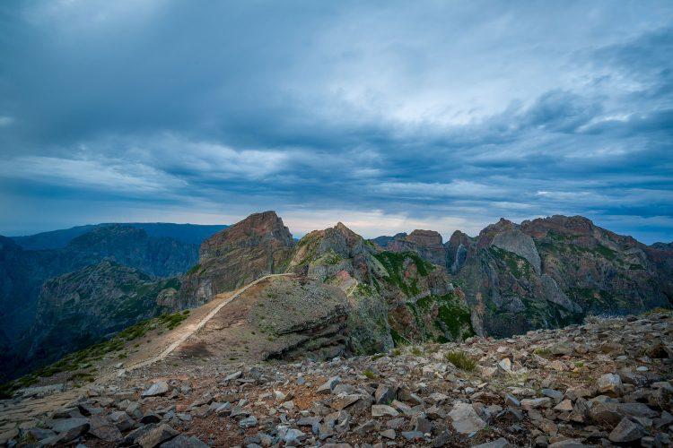 Absolut beeindruckend: Der Sonnenaufgang auf dem Pico Ruivo