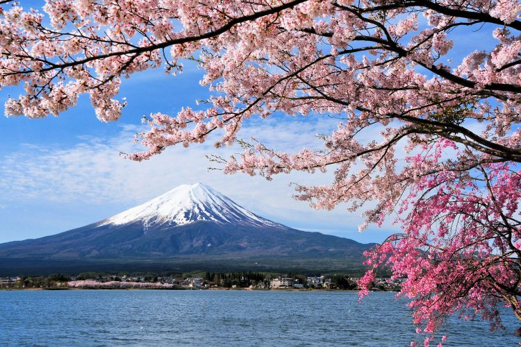 Fujiyama in Japan