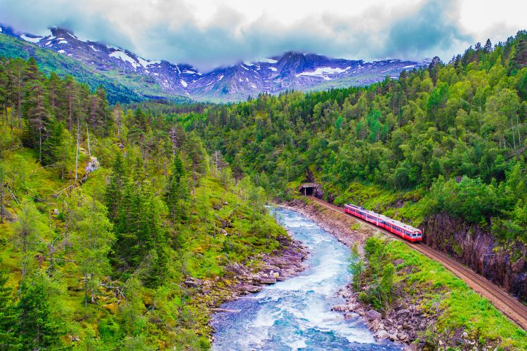 Durch die wilde Landschaft Norwegens