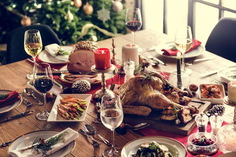 Weihnachten: Ein Festessen in Frankreich