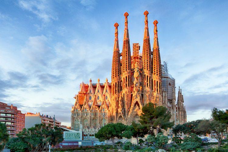 Imposante Kirche La Sagrada Familia