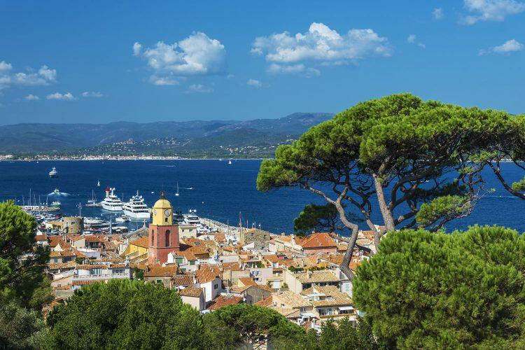 St. Tropez in Frankreich