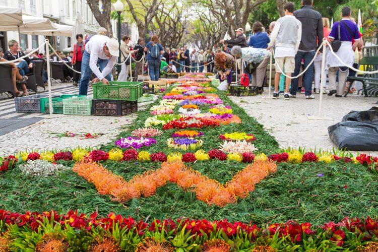Frühlingsfest auf Madeira