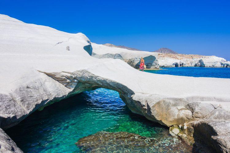Faszinierende Strandlandschaft in Griechenland