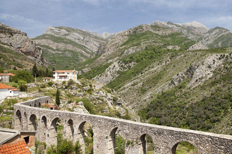 Landschaft bei Bar in Montenegro