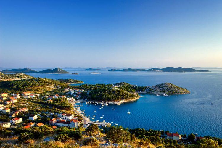 Seenlandschaft von Zadar