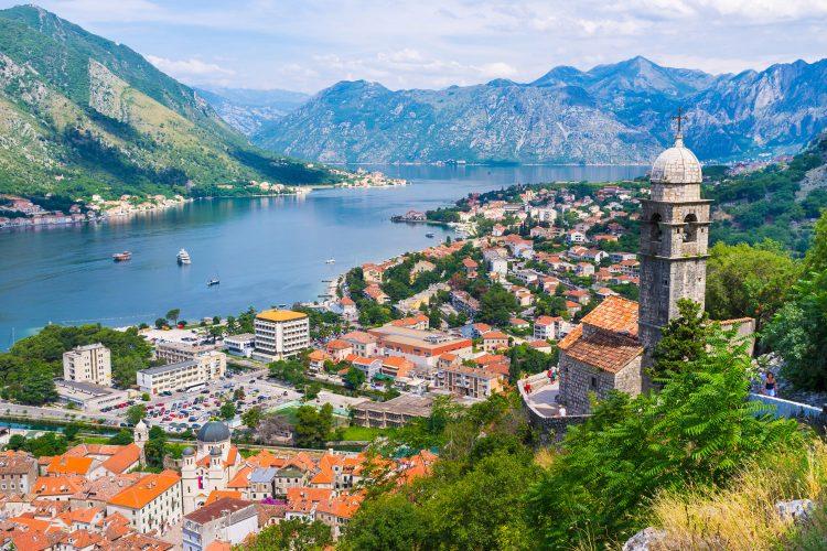 Blick über Kotor