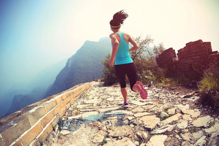 Lauf über die Chinesische Mauer