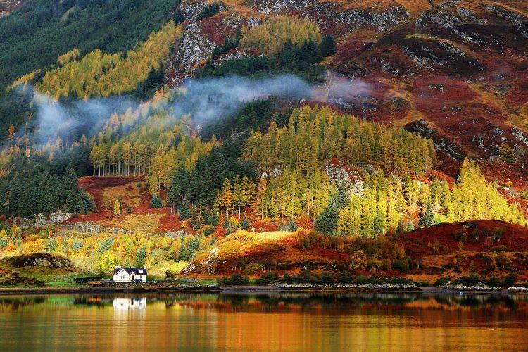 Herbstliche Highlands
