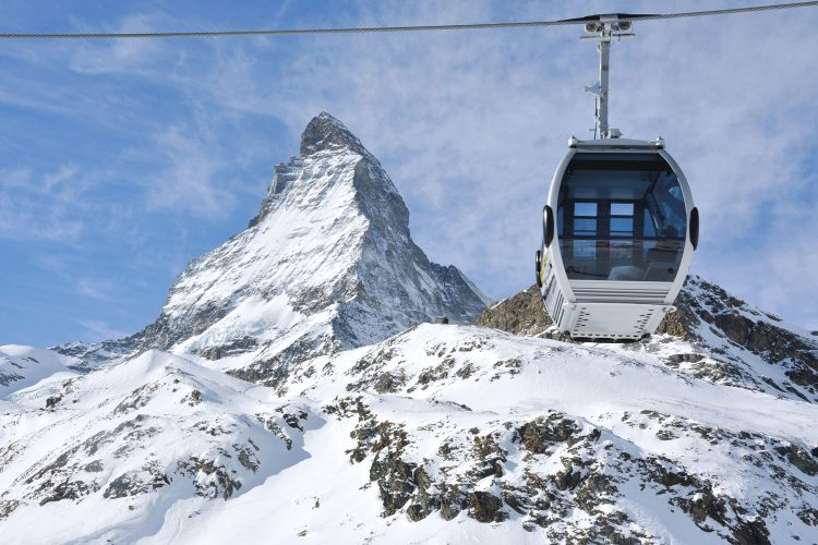 Mit der Seilbahn zum Matterhorn