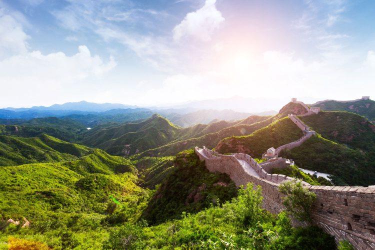 Die imposante Chinesische Mauer
