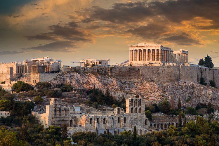 Akropolis mit Parthenon