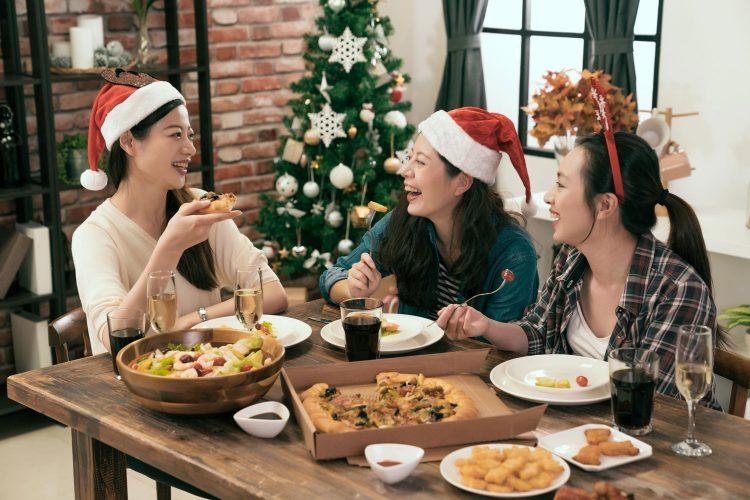 In Japan ist Weihnachten ein Fest für Freunde und Kollegen