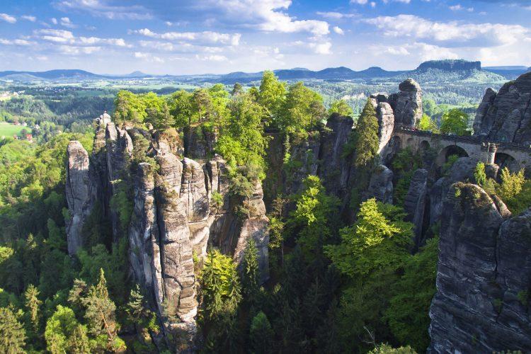 Faszinierendes Elbsandsteingebirge
