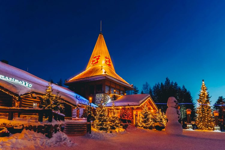Das Dorf des Weihnachtsmanns