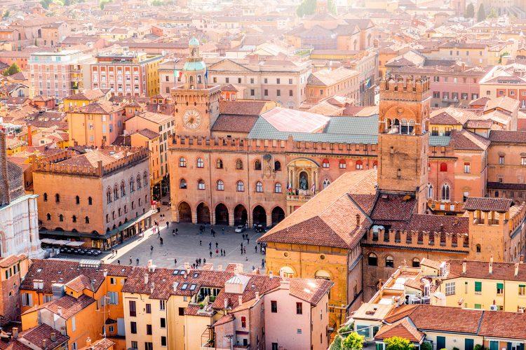 Altstadt von Bologna