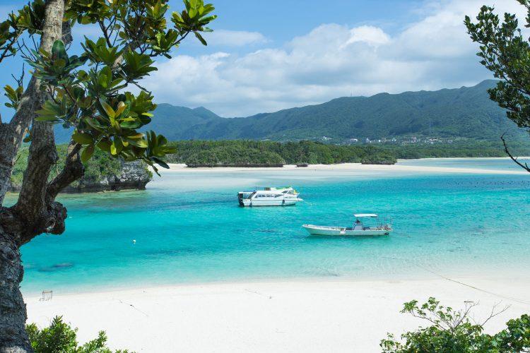 Paradiesischer Strand: Kabira Bay