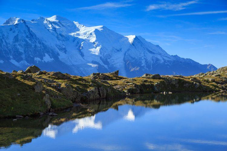 Platz Nr. 7: Der Mont Blanc in Frankreich und Italien