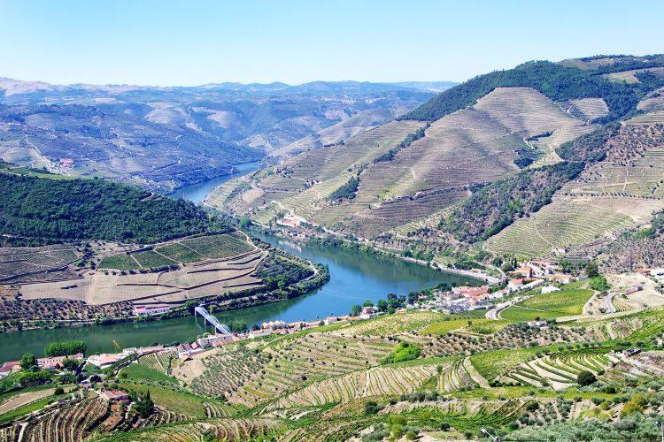 Landschaft am Douro