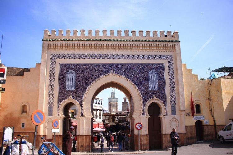 Das blaue Tor von Fès