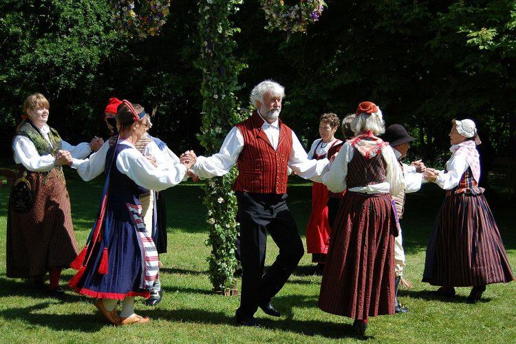 Traditioneller Tanz Schweden