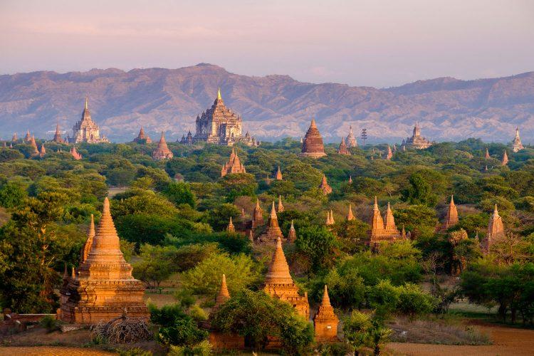 Historische Tempelstadt Bagan