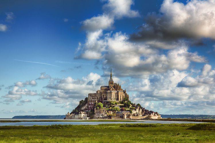 Die Insel Mont Saint Michel