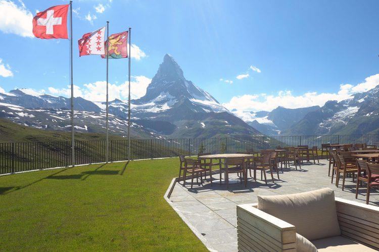 Wunderbarer Ausblick auf das Matterhorn