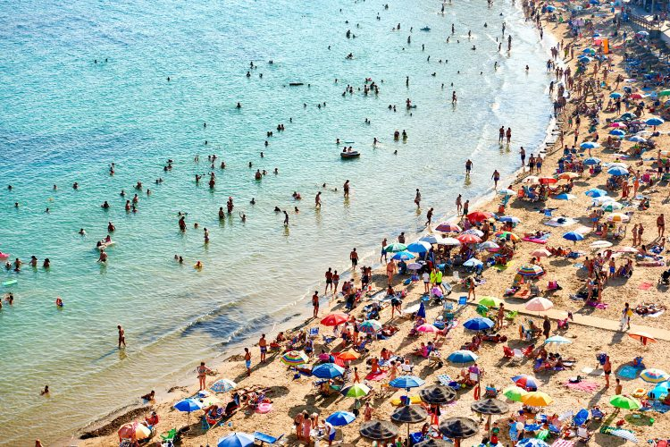 Playa del Cura in Spanien