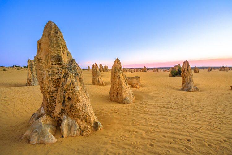 The Pinnacles in Australien