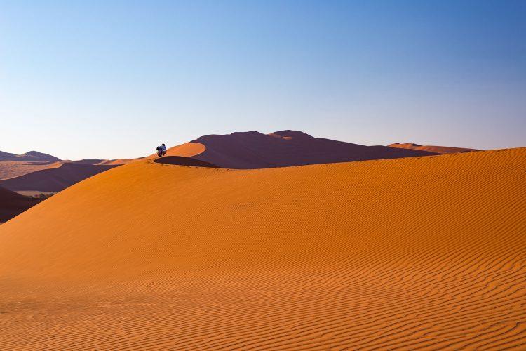 Sossusvlei in der Namib Wüste