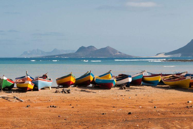 Fischerboote Kap Verde