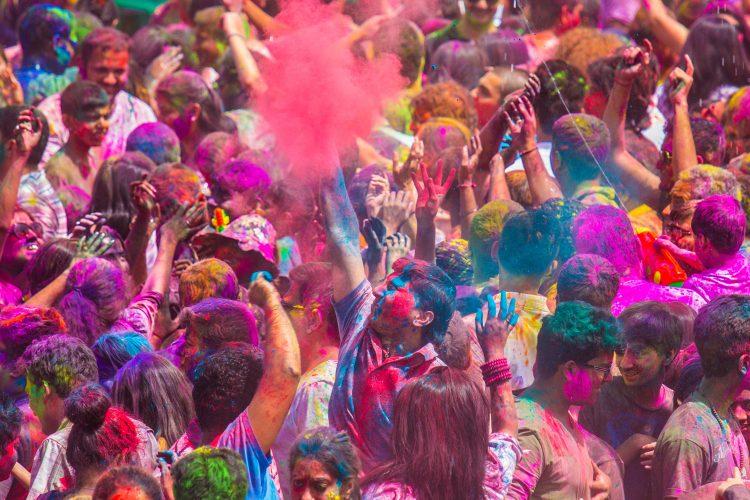 Das farbenfrohe Holi-Fest
