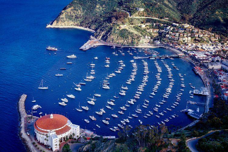 Bucht der Insel Santa Catalina